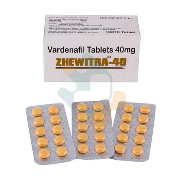 Zhewitra 40 mg Online